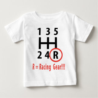 racing gear R T-shirt
