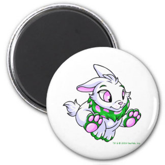 Racing green Cybunny 2 Inch Round Magnet