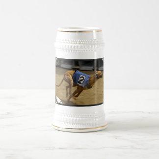 Racing Greyhound Beer Stein Coffee Mugs