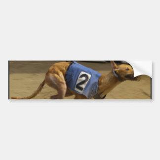 Racing Greyhound Bumper Stickers