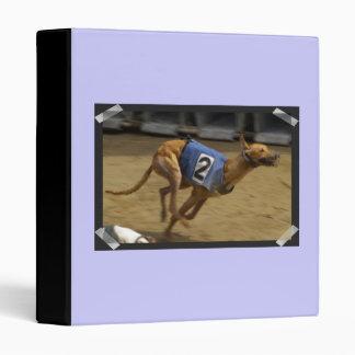 Racing Greyhound Dog Binder
