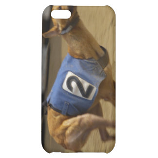 Racing Greyhound Dog iPhone Case iPhone 5C Covers