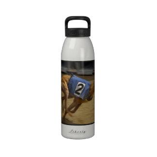 Racing Greyhound Water Bottle