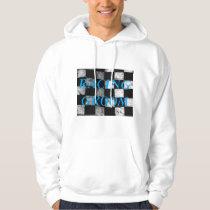 Racing Groom Checkered Flag Hoodie