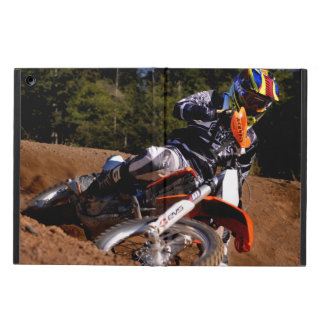 Racing hard through the corner. case for iPad air
