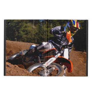 Racing hard through the corner. iPad air case