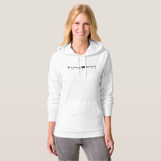 Racing Heart Records White (American Apparel) Hoodie