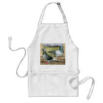 Racing Homers in Loft Adult Apron