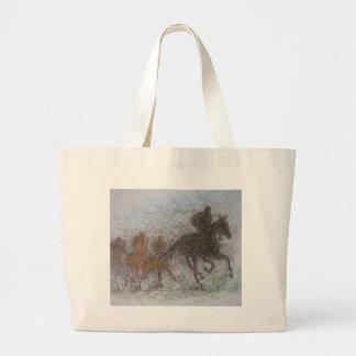racing horse tote bags