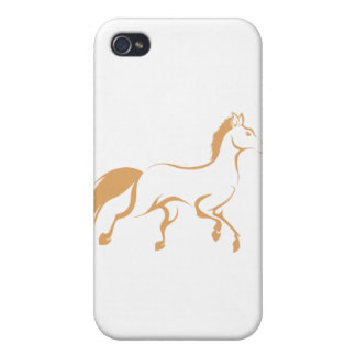 Racing Horse Running Cases For iPhone 4