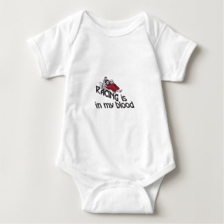Racing In My Blood Baby Bodysuit