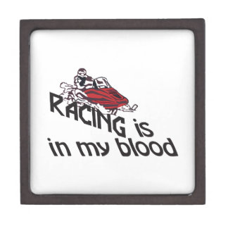 Racing In My Blood Gift Box
