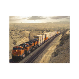 Racing Into California Canvas Print