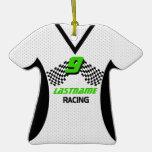 Racing Jersy Photo Keepsake Ornament