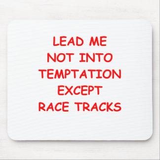 racing joke mousepad