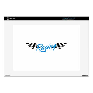 "Racing Logo Decals For 15"" Laptops"