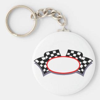Racing Logo Keychain