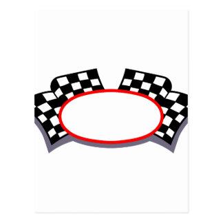 Racing Logo Postcard