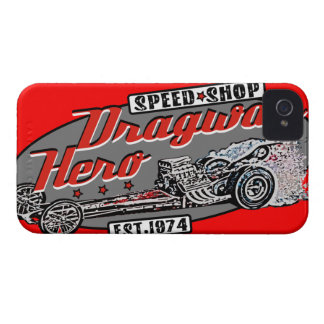 Racing madness iPhone 4 case