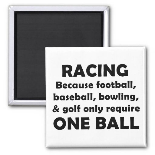 Racing Fridge Magnets