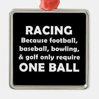 Racing Metal Ornament