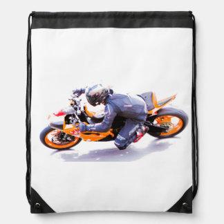 Racing motorcycle bags
