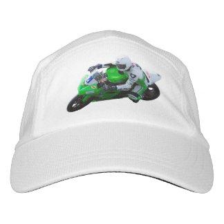 Racing motorcycle hat