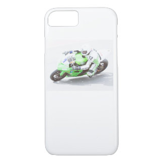 Racing motorcycle iPhone case