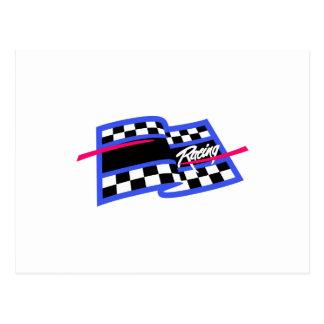 Racing Name Drop Postcard