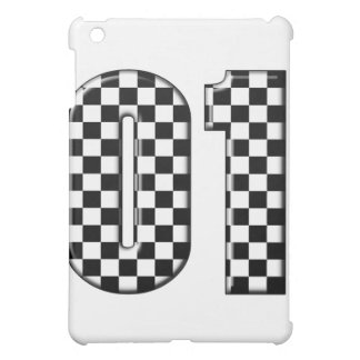 racing number 01 iPad mini covers