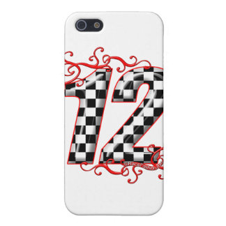 racing number 12 case for iPhone SE/5/5s