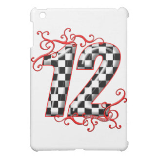racing number 12 case for the iPad mini
