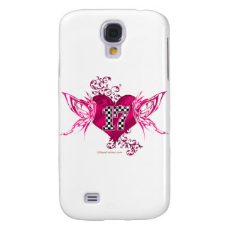 racing number 17 galaxy s4 cover