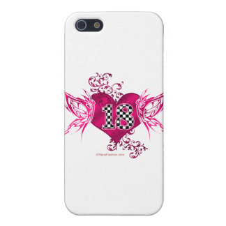 racing number 18 with butterflies case for iPhone SE/5/5s