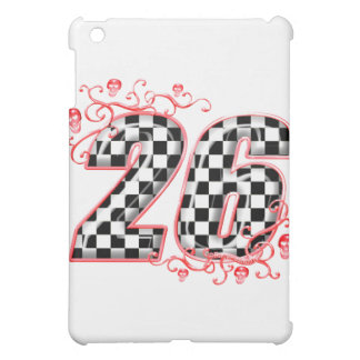racing number 26 skulls cover for the iPad mini
