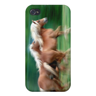 Racing Palomino Horse iPhone Case iPhone 4 Cover