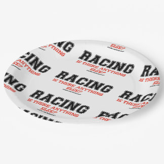 Racing Paper Plate
