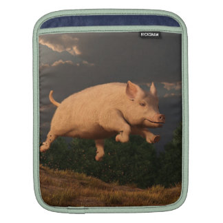 Racing Pig Sleeves For iPads