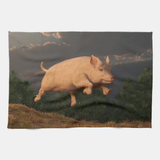 Racing Pig Towel