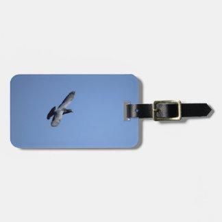 Racing Pigeon in Flight Luggage Tag