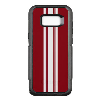 Racing Pin Stripes OtterBox Commuter Samsung Galaxy S8+ Case