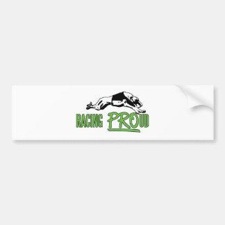 Racing PROud bumper sticker