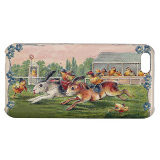 Racing Rabbits and Chicken Jockets - Fun and Cute Case For iPhone 5C