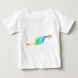 Racing Rainbow Hearts Infant T-shirt