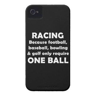 Racing requires balls iPhone 4 covers