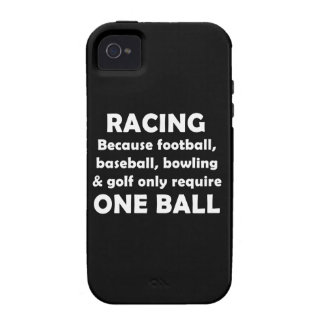 Racing requires balls case for the iPhone 4