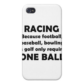 Racing requires balls cases for iPhone 4