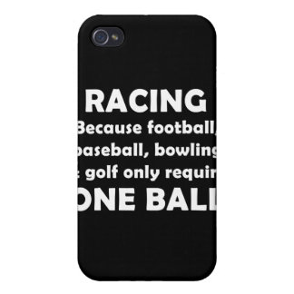 Racing requires balls case for iPhone 4