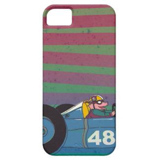 Racing Retro Car Pig iPhone 5 Covers