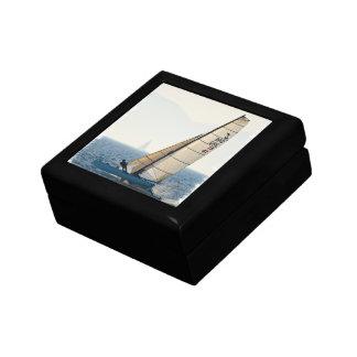 Racing Sailboat Gift Box